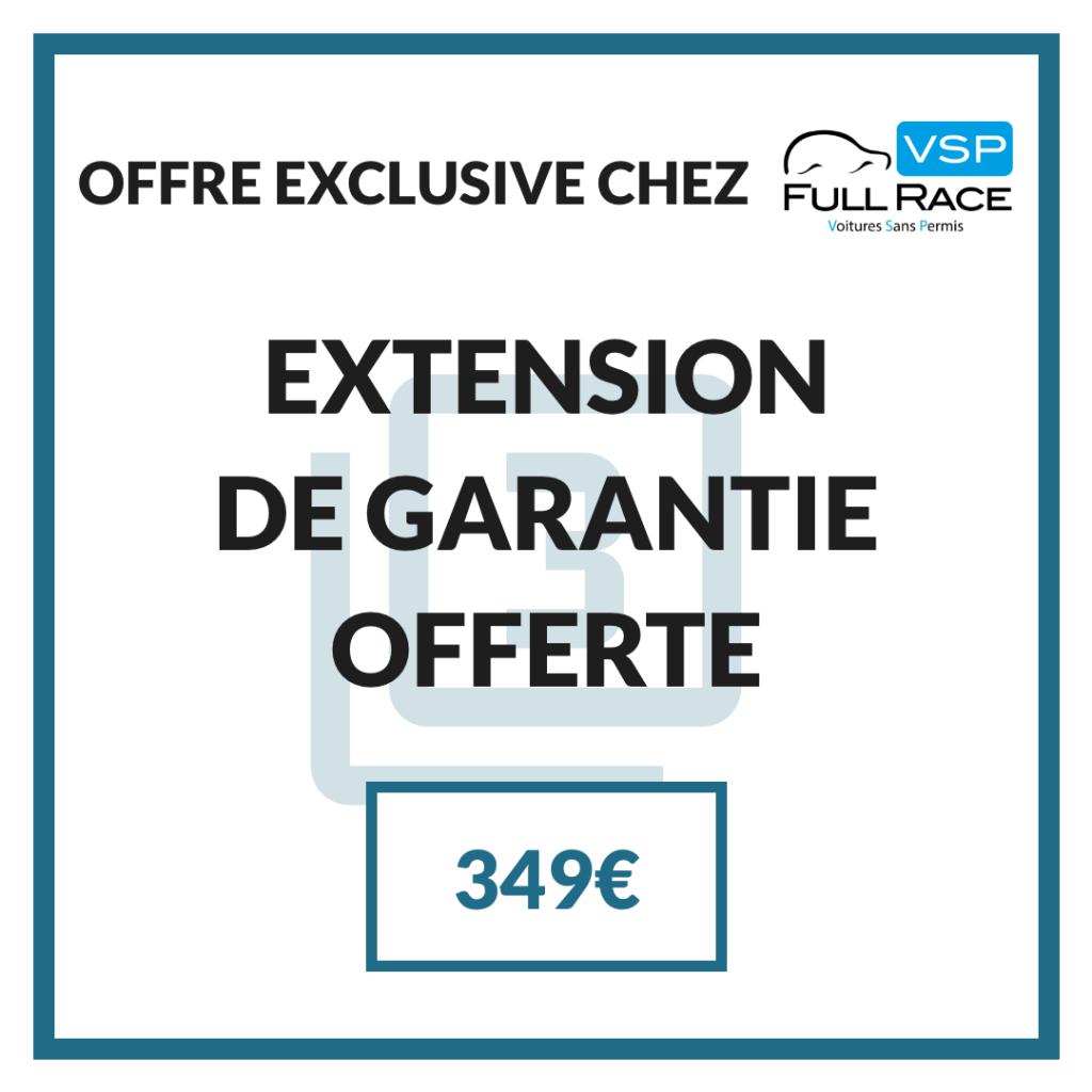 Offre exclusive de bienvenue chez VSP Full Race : Extension de garantie offerte