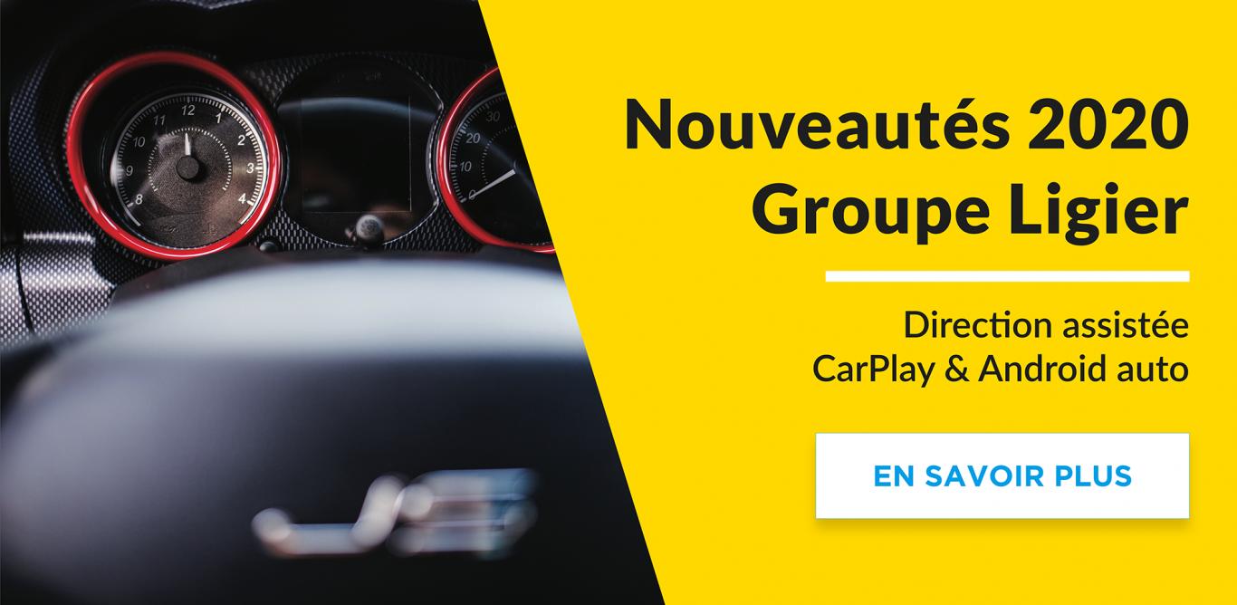 Nouveautés Groupe Ligier