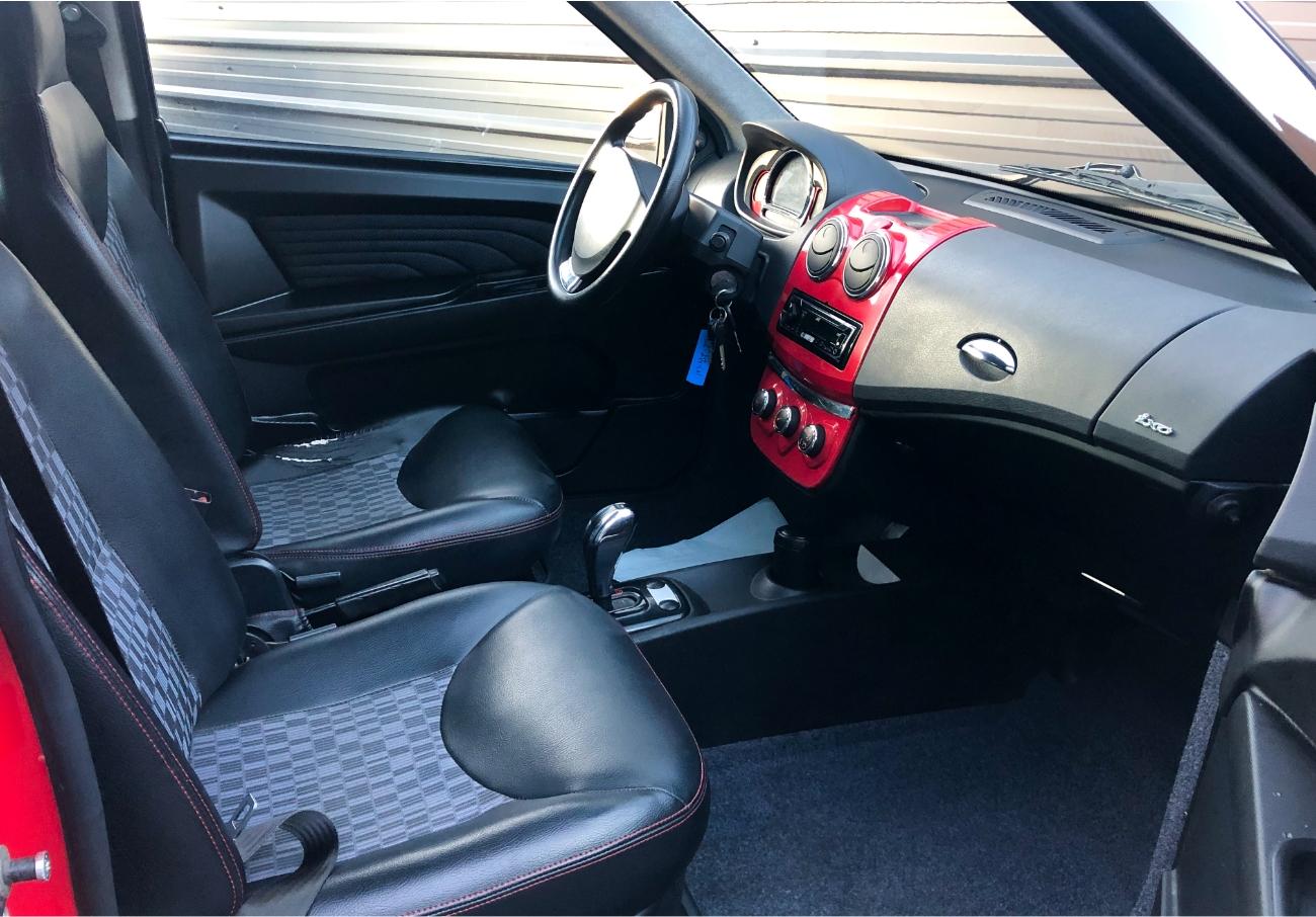 Ligier Ixo Treck intérieur