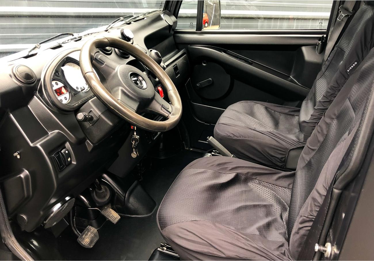 Intérieur Aixam MEGA D-Truck Blanc
