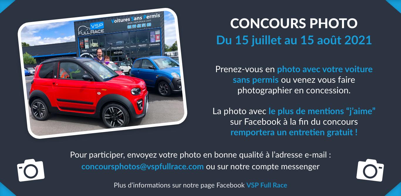 Concours photos Facebook
